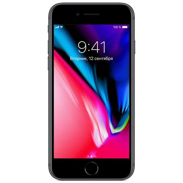 Смартфон Apple iPhone 8 64Gb Space Gray (MQ6G2RU/A)