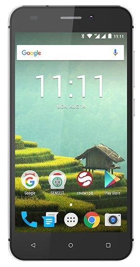 Смартфон SENSEIT T100 Black
